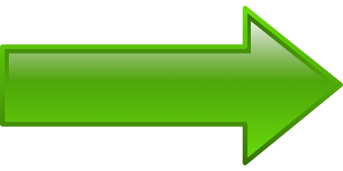right arrow facing