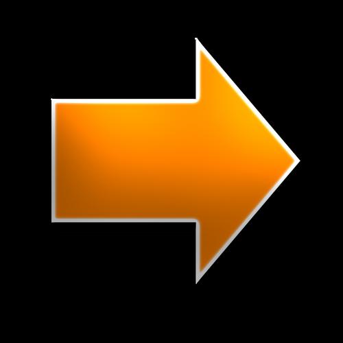 right arrow yellow