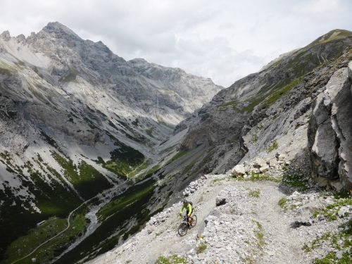 right mount pedenolo trail mountain bike
