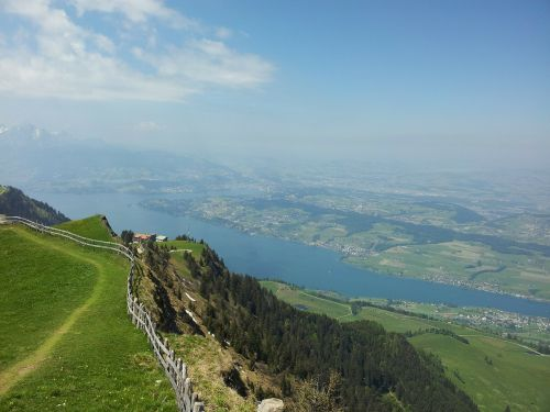 rigi central switzerland alpine