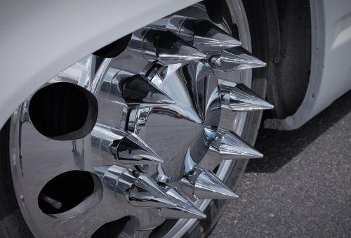 rims wheel rim spikes