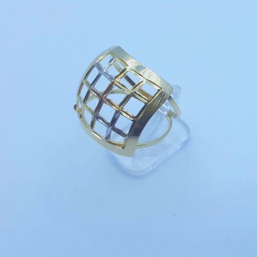 ring 3 shades jewels