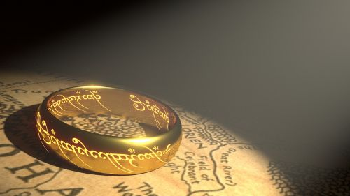 ring gold middle earth