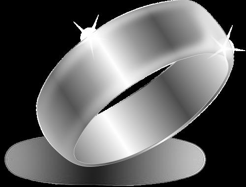 ring wedding silver