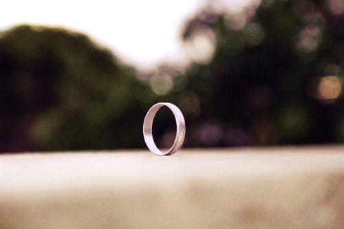 ring  metal  round