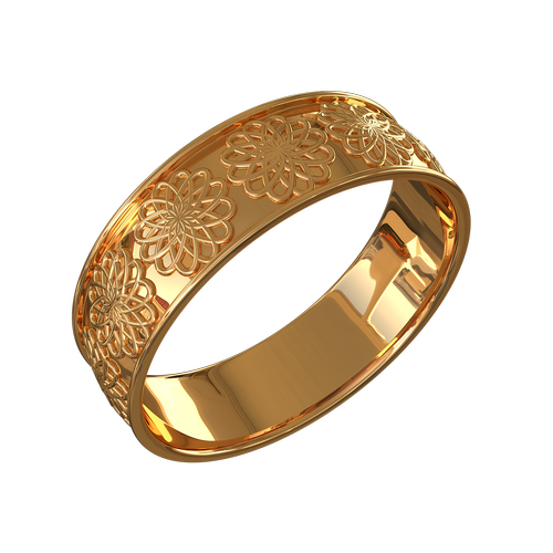 ring with ornament  ornament  transparent background