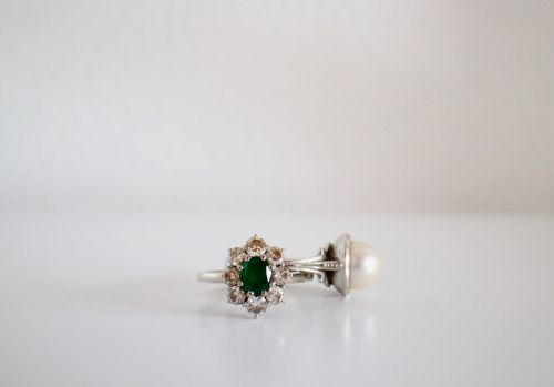 rings jewelry emerald