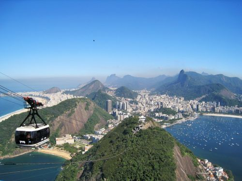 rio view from sugarloaf stunning