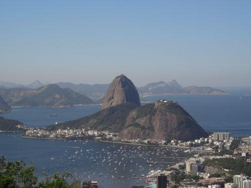 rio sugar loaf mountains