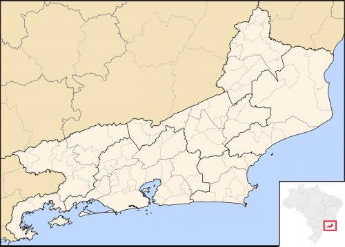 rio map rio de janeiro