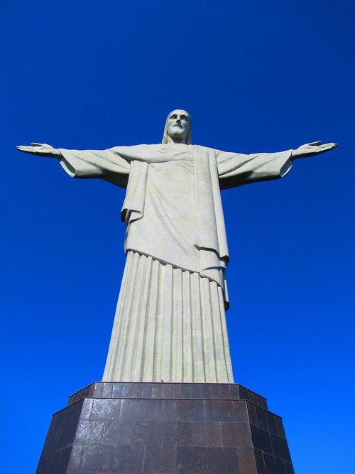 rio de janeiro  christ the redeemer  brazil