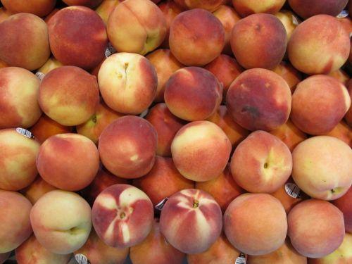 Ripe Fresh Peaches