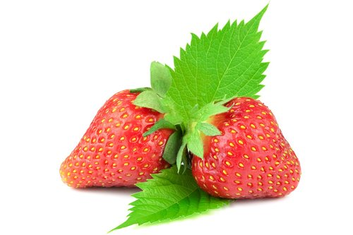 ripe strawberries  strawberry  fruit