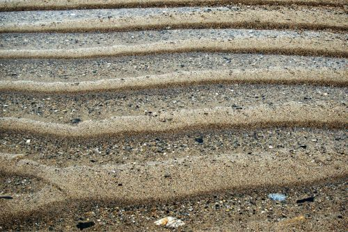 ripples sand lines