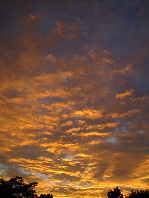 Ripples Of Fiery Cloud