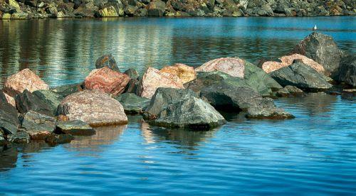 riprap breakwater lake superior