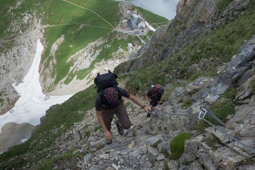 rise hike climb