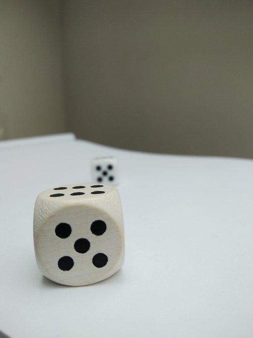 risk  cube  gamble