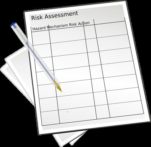 risk assessment paperwork compliance