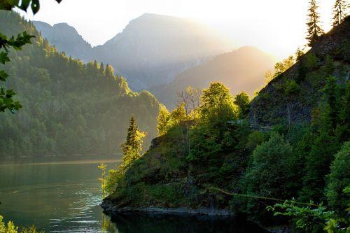 ritsa lake abkhazia