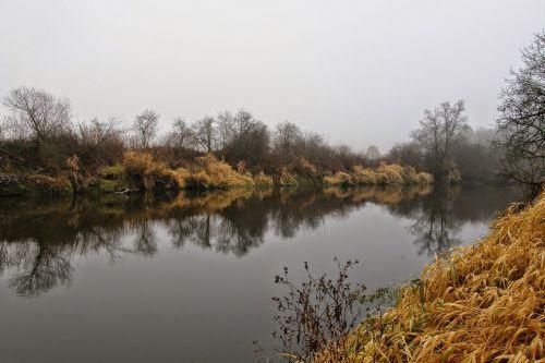 river autumn landscape