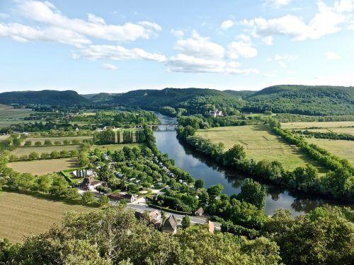 river dordogne tranquil