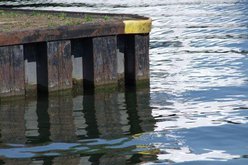 river water pier