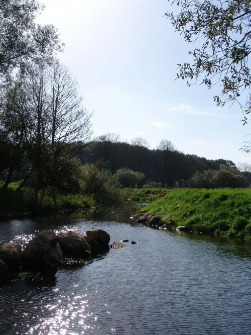 river water depression
