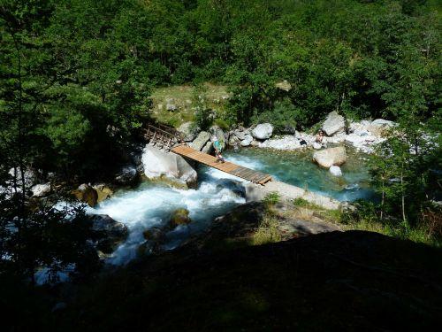 river bach mountain stream