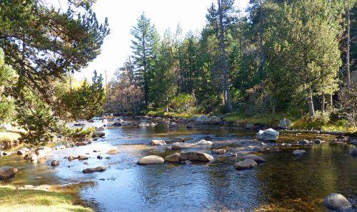 river mountain water