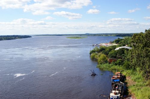 river rio paraguay ship