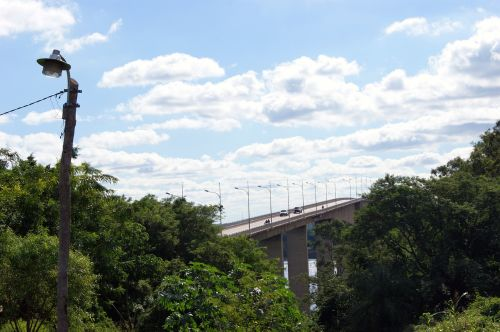 river rio paraguay bridge