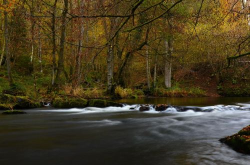 river ardennes long exposure