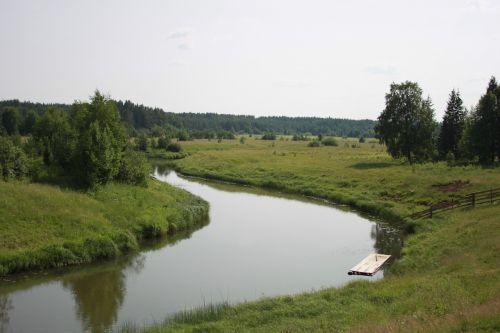 river raft village