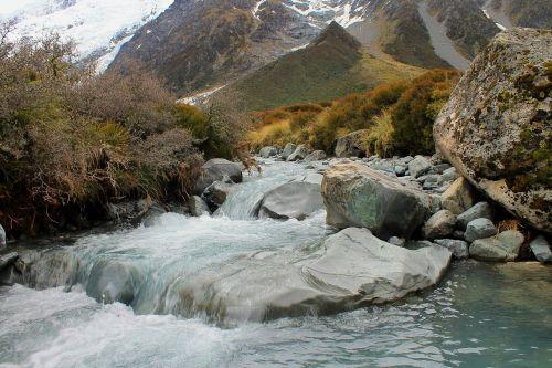 river glacier water