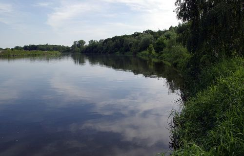 river water calm