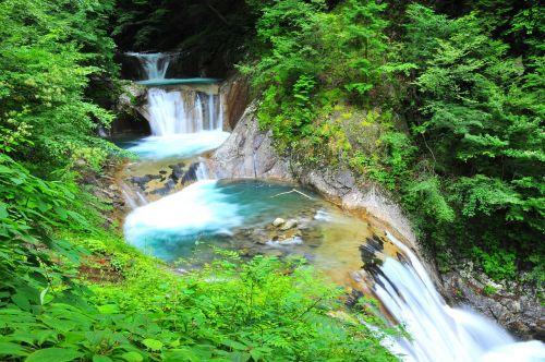 river waterfall natural