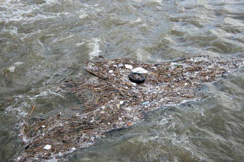 river water garbage