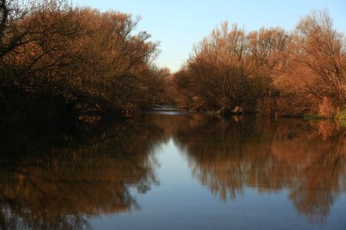 river reflection pa