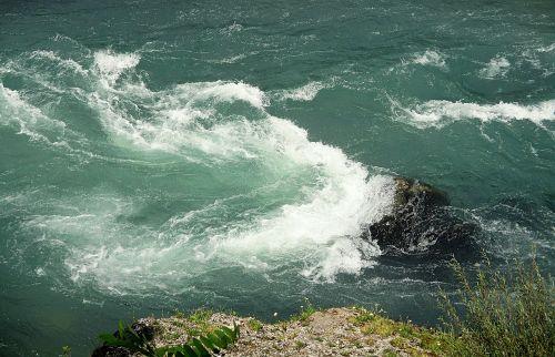 river riverbank swirl