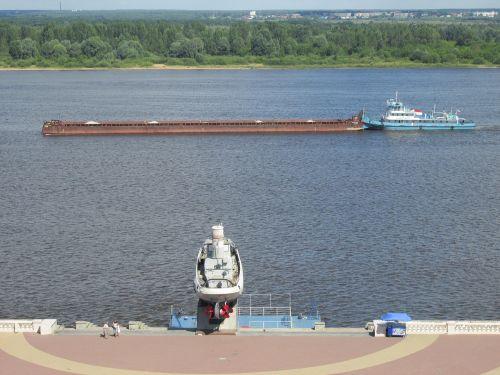 river volga freighter