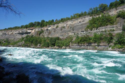 river rapids flow