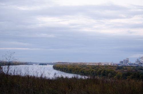 upė,ruduo,gerti,atspindys,gamta,rami upė,miškas,Rusija