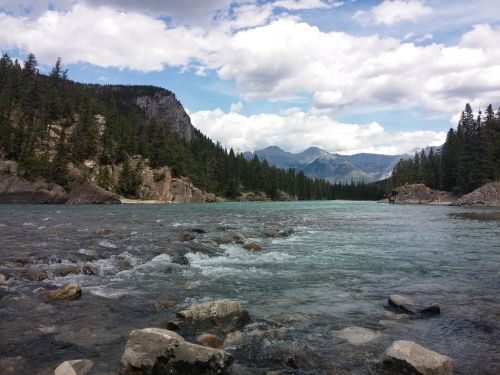 river banff canada