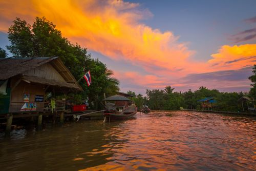 river life thailand