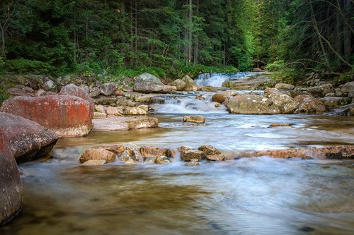 river  cascade  white elbe