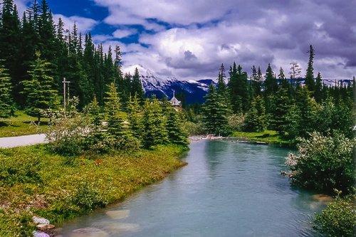 river  flow  rockies