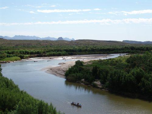 river rio bravo big bend national park