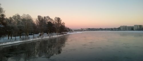 river oulu river oulu finland