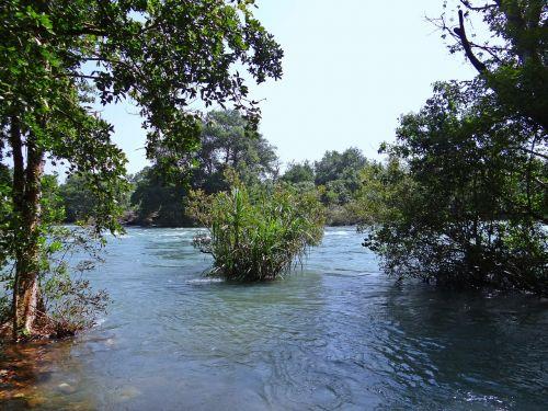 river kali water